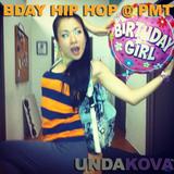 DJ UNDAKOVA Chihiro Birthday Hip Hop Mix Live @ PMT Studios