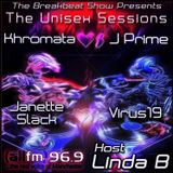 The Unisex Sessions Back2Back Exclusive Mixes Courtesy Of Khromata, J Prime, Janette Slack, Virus19!