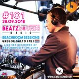 Beatz Sounds Radio #101 - 28.09.2018 - 'Beachboom 2018 Sessions' by Gregor Salto (NL)