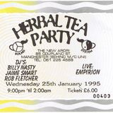 Empirion live with Jamie Smart warm up DJ set at Herbal Tea Party Manchester 25 January 1995