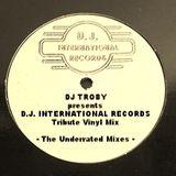 Dj Troby presents Dj International Records Tribute Vinyl Mix - The Underrated Mixes
