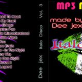 Italo disco 3 Dee jex