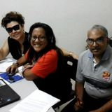 Radioshow dj Debbie & Johnson & Lee from Malaysia 17-08-2017