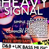 Set from Heavy Signal @ The Silver Bullet 04/07/2013
