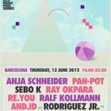 Rodriguez Jr. @ Sonar Festival 2013 - Mobilee Pool Session 13-06-2013