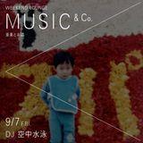 Music & Co 20180907 / 空中水泳