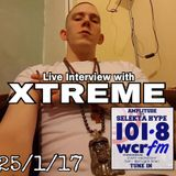 "XTREME INTERVIEW on ""AMPLITUDE"" WCRfm with SELEKTA HYPE - 26/1/17"