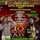 JAH BOUKS LIVE INTERVIEW WITH DJ JAMYY ON ZIONHIGHNESS RADIO 07-23-2013