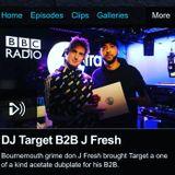 J-Fresh B2B DJ Target BBC Radio 1Xtra