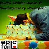 NaughtyBear @ Wundergarten (epicfail birthday invasion)