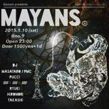 2015.1.25 DJ mix for MAYANS