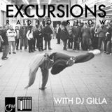 Excursions Radio Show #18 with DJ Gilla -  January 2013