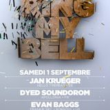 [_Ring_My_Bell_] - Jan Krueger, Dyed Soundorom, Evan Baggs @ Rex Club (paris) - 01-09-2012