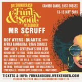 Mr. Scruff at the Soundcrash Funk & Soul Weekender 2016
