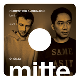 CHOPSTICK & JOHNJON @ mitte soundbar : 01.06.13