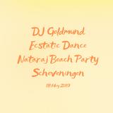 DJ Goldmund Nataraj Beach Party Scheveningen 18 May 2019