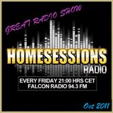 Home Sessions Radio presents | Episode #187 - Oct 2011 | Guest Mix - Lex Green / starts @ 29:33 min.