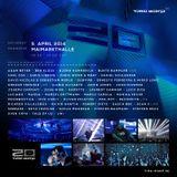 Moonbootica @ Time Warp Mannheim 2014 (20 Years Anniversary) (05.04.14)