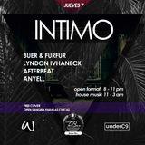 Afterbeat B2B Buer & Furfur - INTIMO Live Set (7-Sep-2017)