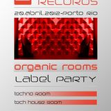 Louie Cut @ CODE x33 Records /// Organic Rooms Label Party