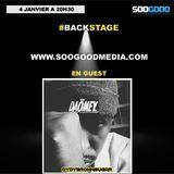 Backstage guest DD Brown sugar