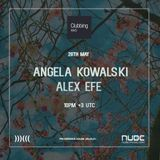 Clubbing Mvd Radio Show, Nube Music Radio (Arg) # Episode Thirteen Angela Kowalski