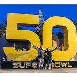 The Superbowl 50 Radio Food Show