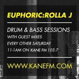 KFMP: Euphoric:Rolla J Drum & Bas Sessions Kompact Guest Mix 22-06-2013