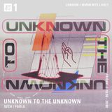 Unknown to the Unknown w/ SZCH & Fools - 8th December 2017