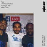 House Matters:  Able's Gimme Groove on Rinse Fm