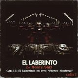 """Henry Saiz – El Laberinto #54 """"en vivo: Stereo, Montreal"""""""