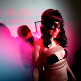 Hali at the MBE Bondage Show - October 1 2011