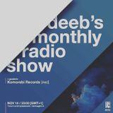 DEEB'S MONTHLY RADIOSHOW #016