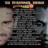 Stefano Secchi & Miky B - Discomania Mix [13-06-92]