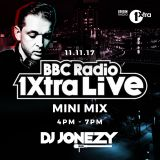 DJ Jonezy - 1Xtra Live Mini Mix