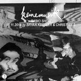 Keinemusik Radio Show by Bryan Kessler & Christian S 16.11.2018