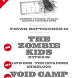 The Invaders Go Electronic! Live @ Fever 22-09-2012 WARM UP
