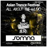 Somna - Asian Trance Festival 5th Edition 2016-NOV-5
