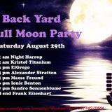 Frank Eizenhart Live @ Back Yard Full Moon Party SL 29-08