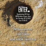 Richie Hawtin B2B Maceo Plex - live at ENTER.Sake, Week 11, Space (Ibiza) - 11-Sep-2015