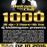 DJ KLUBBINGMAN in the Mix letzte Welcome to the Club >Show Teil 1