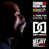 Krazyeats - SoundRecMix-004 (Paranoia Radio Show)