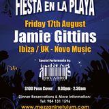 PART 1 - Jamie Gittins at Fiesta en la Playa @ Mezzanine, Tulum (Mexico) - 17.8.12