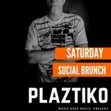 DJ PLAZTIKO SET THE SOCIAL BRUNCH 19 N0V 16