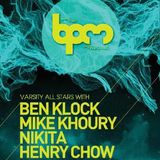 Henry Chow - Live at BPM Festival 2013, Mamitas Lounge, Playa del Carmen (04-01-2013)