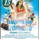Manic N - Live @ Cantaloop Szolnok Cartoon City Special Summer Start 2013.06.15.
