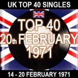 UK TOP 40 14-20 FEBRUARY 1971