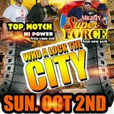 Who a Lock the City? Top Notch vs Superforce Oct 2 2016