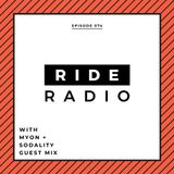 Ride Radio 074 with Myon + Sodality Guest Mix
