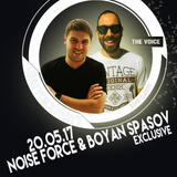 Boyan Spasov & Noise Force -  EDM Voice Party Radio Show (Guest Mix on Radio The Voice) 20.05.2017